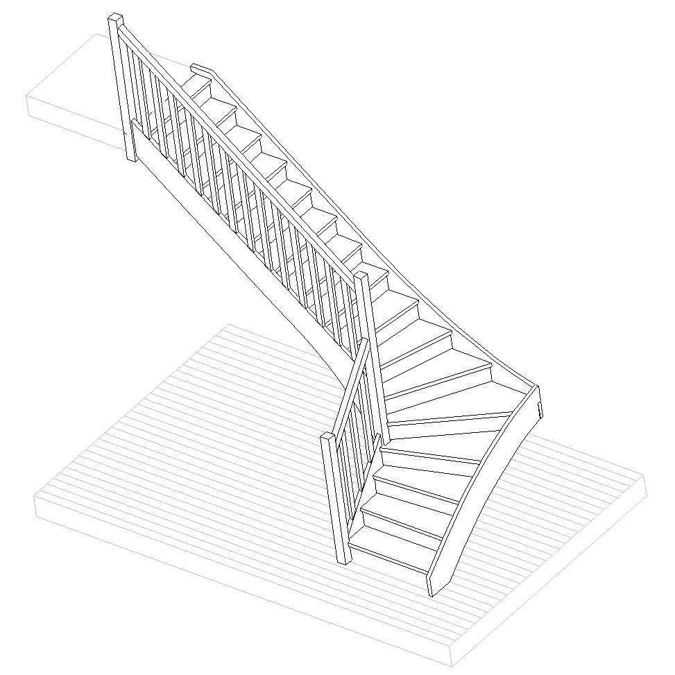 escalier-3d